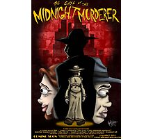 The Case of the Midnight Murderer: Scenes in Red Photographic Print