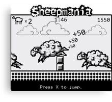 Sheepmania Canvas Print