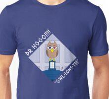 DOCTOR HOOO (TENTH DOCTOR) OWL-LONS-Y! Unisex T-Shirt