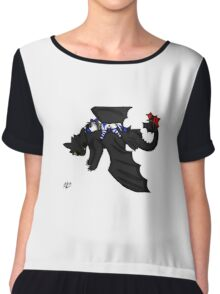 Toothless and i best buds  Chiffon Top