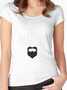 The Darkest Timeline - Community - 5/9/14 Women's Fitted Scoop T-Shirt