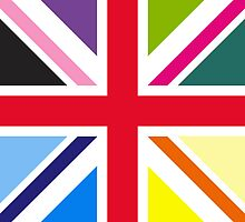 Union Jack (Multi Coloured) by sher00