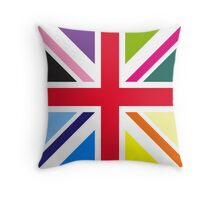 Union Jack (Multi Coloured) Throw Pillow