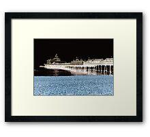 Eastbourne Pier Pop  Framed Print