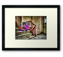 A Friend in Need Framed Print