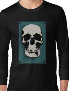 Skull - Sherlock Long Sleeve T-Shirt