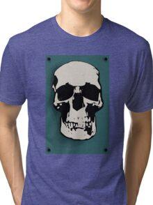 Skull - Sherlock Tri-blend T-Shirt