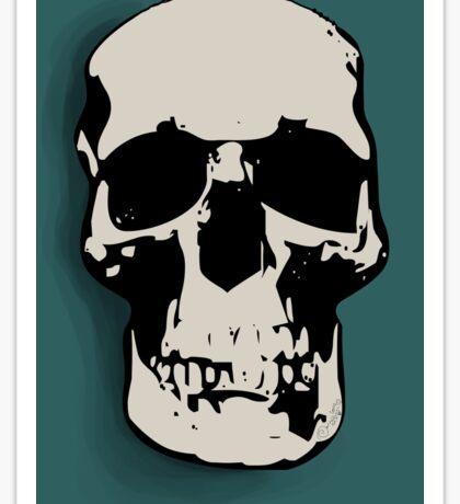 Skull - Sherlock Sticker
