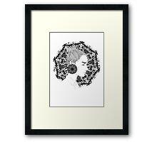 Eva - Fineliner Illustration Framed Print