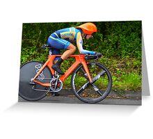 Cycling Olympics Greeting Card