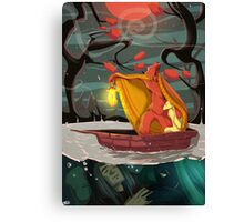 Bear & Rabbit Canvas Print