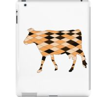 Geometric Cow iPad Case/Skin