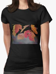 Autumn Foliage in Australia 2 Womens Fitted T-Shirt