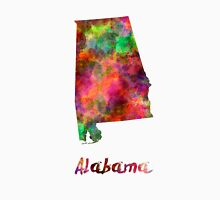 Alabama US state in watercolor Unisex T-Shirt