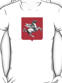 Coat of Arms of Tuscany, Italy  T-Shirt