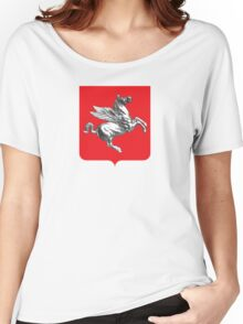Coat of Arms of Tuscany, Italy  Women's Relaxed Fit T-Shirt