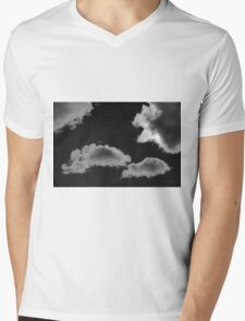 Cloudscape XVIII BW Mens V-Neck T-Shirt