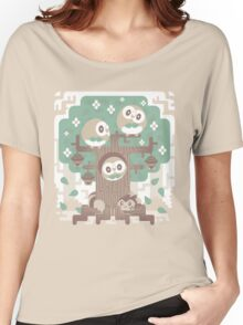 Wood Owl Woods Women's Relaxed Fit T-Shirt