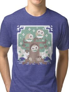 Wood Owl Woods Tri-blend T-Shirt