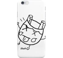 Slush - donked on the head iPhone Case/Skin