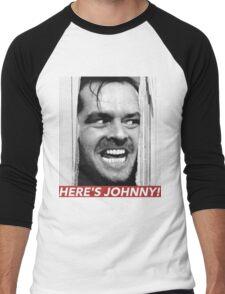 HERE'S JOHNNY Men's Baseball ¾ T-Shirt