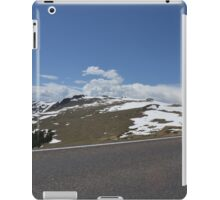 A drive over the divide iPad Case/Skin