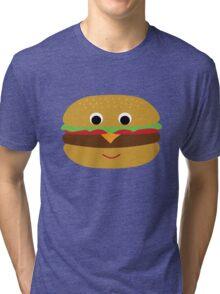 Cute Hamburger Tri-blend T-Shirt