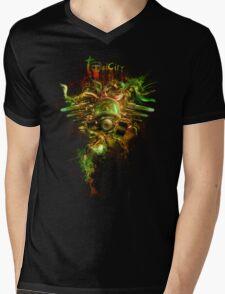 Toxicity Mens V-Neck T-Shirt