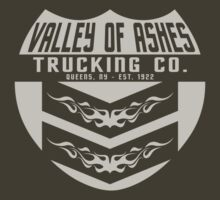 Valley of Ashes Trucking by LicensedThreads
