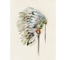 peace headdress Photographic Print