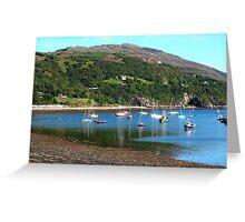 Ullapool, west coast of Scotland Greeting Card
