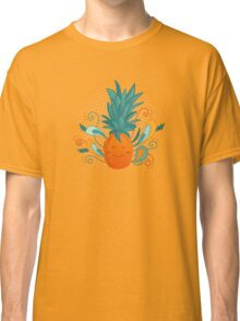 Happy Pineapple Classic T-Shirt