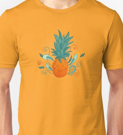 Happy Pineapple Unisex T-Shirt