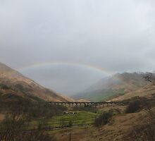 Harry Potter Bridge! (Glenfinnan Viaduct) by Lucy Hague