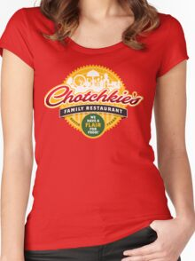 Chotchkie's Women's Fitted Scoop T-Shirt