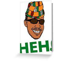 Prince Zimboo - Heh! Greeting Card