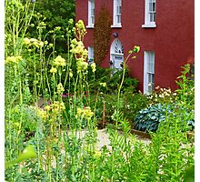 The Front Garden Of Glebe House Photographic Print