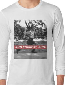 RUN FORREST, RUN! Long Sleeve T-Shirt