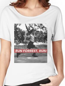 RUN FORREST, RUN! Women's Relaxed Fit T-Shirt