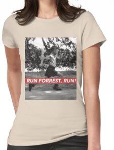RUN FORREST, RUN! Womens Fitted T-Shirt