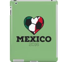 Mexico Soccer iPad Case/Skin
