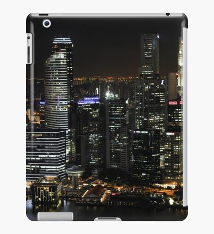 City Lights at Night iPad Case/Skin
