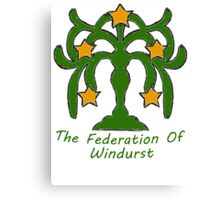 The Federation of Windurst Canvas Print