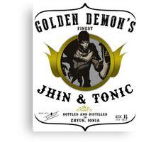 Jhin & Tonic Canvas Print