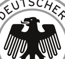 Germany Soccer Logo Sticker