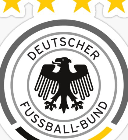 Germany Soccer Logo Sticker