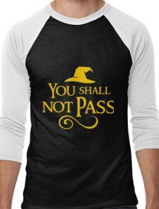 You shall not pass!! Men's Baseball ¾ T-Shirt