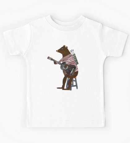 guitar song Kids Tee