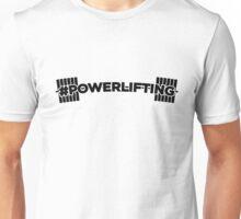 #Powerlifting Bar Unisex T-Shirt