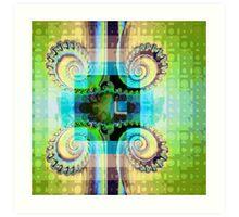 Spirals and Patterns Art Print